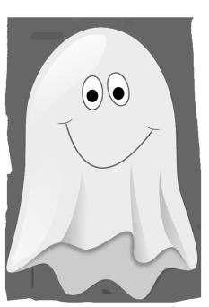 Halloween clip art cute little ghost