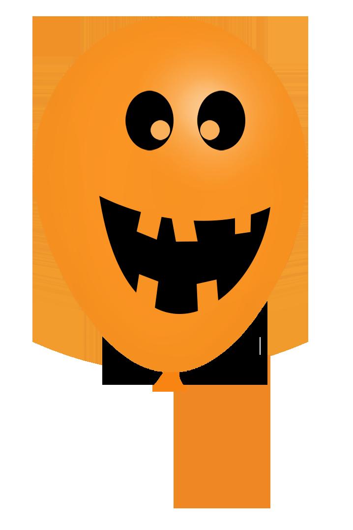 jack o'lantern halloween balloon