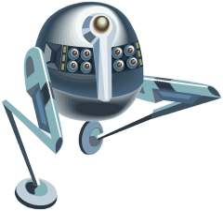 space robot clipart