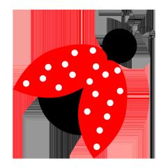 red ladybird clipart