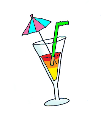 summer clip art drink
