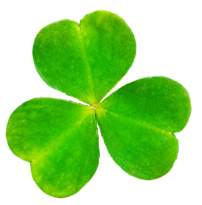leaf of shamrock for st. Patrick's Day