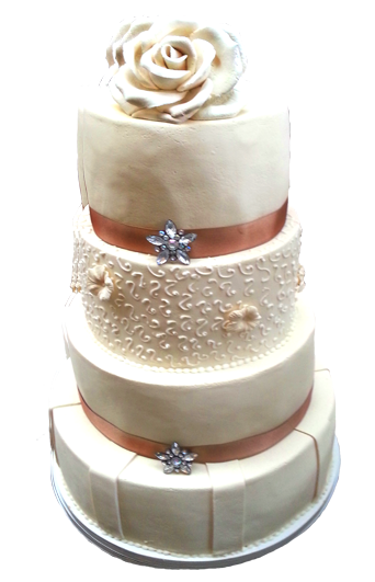 high wedding cake clipart
