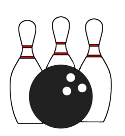 bowling icon transparent background
