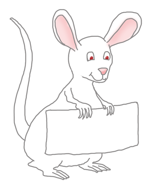 white mouse clip art