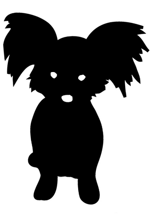 pappion silhouette