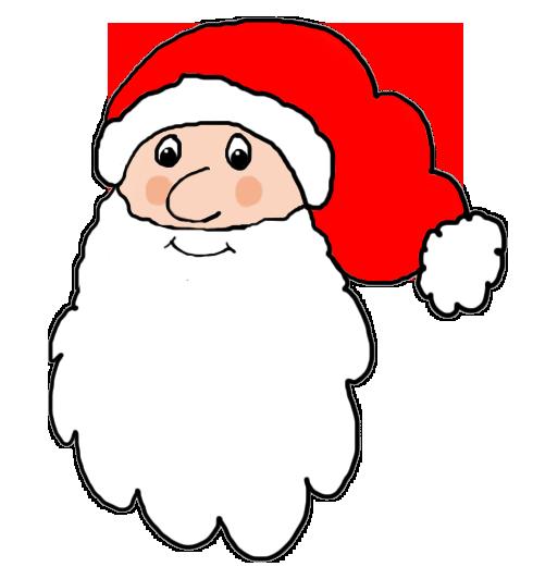 Santa Claus head