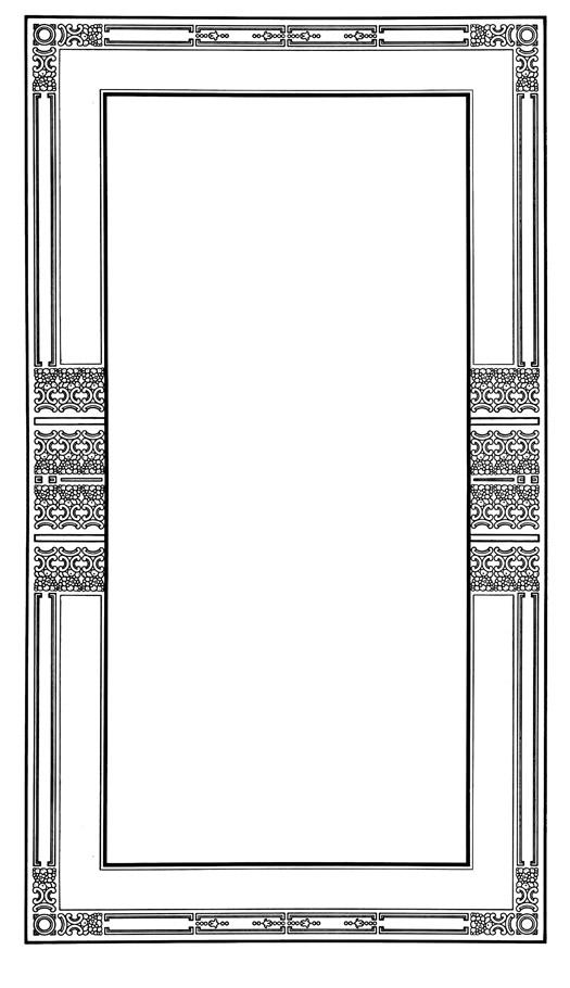 high Victorian frame