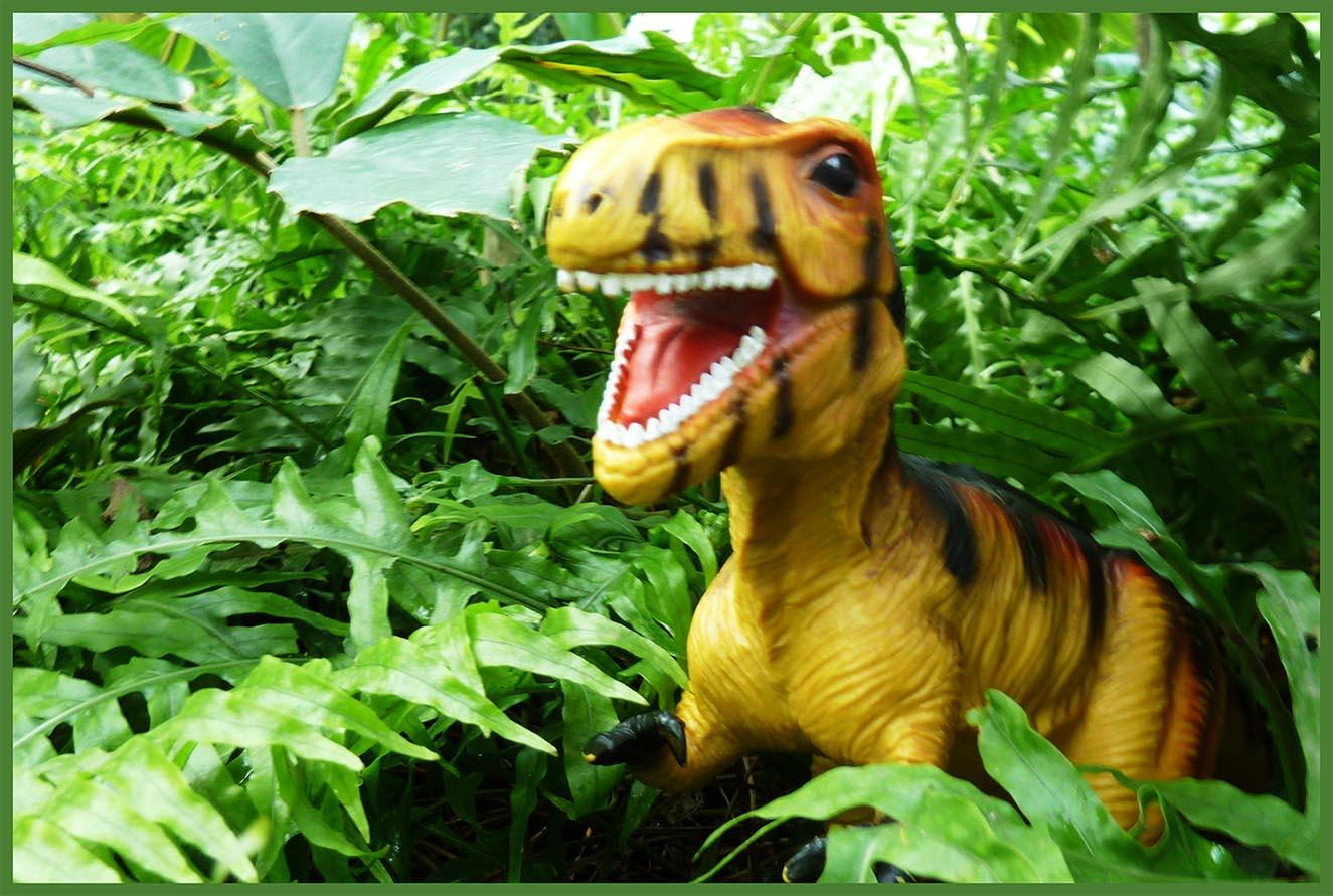 card with tyrannosaurus rex