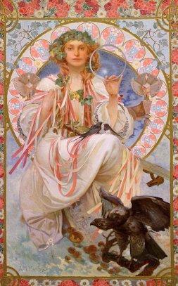 Art Nouveau by Mucha