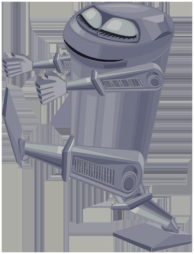 walking space robot