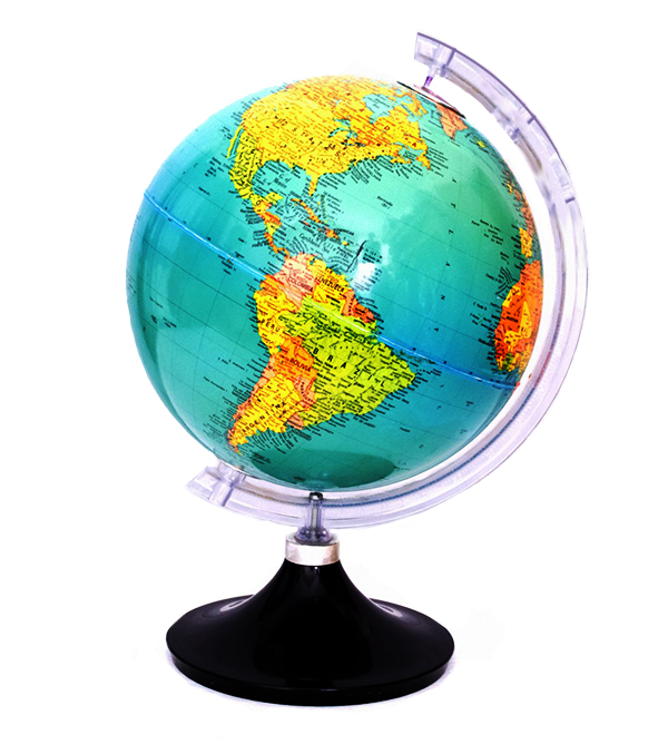 school globe for teaching