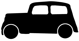 silhouette graphics car Austin