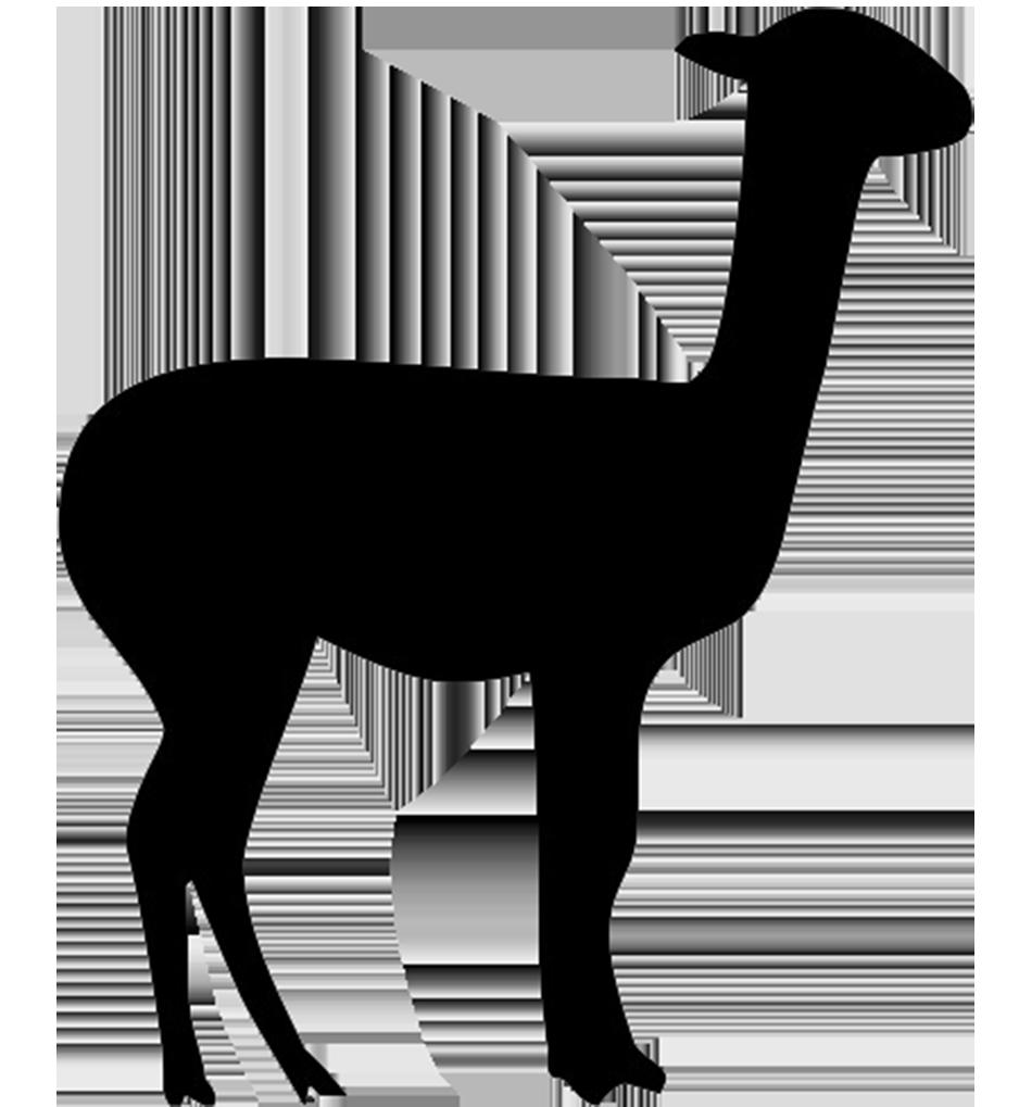 lama silhouette PD