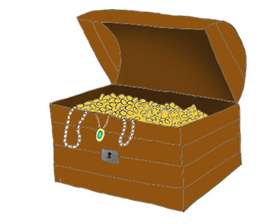 pirate chest for gold