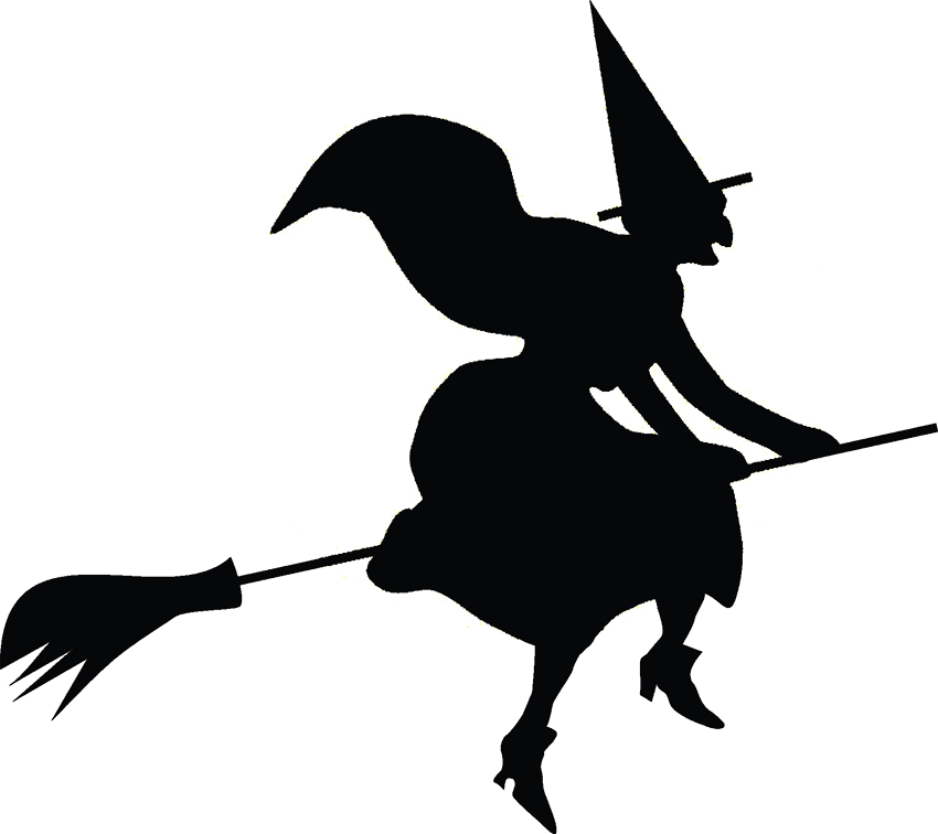Halloween-clip-art-witch-on-broomstick