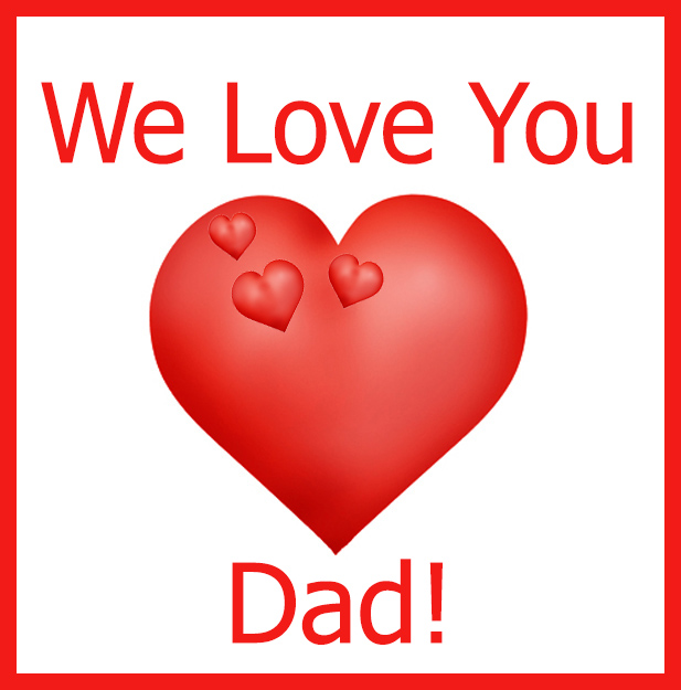 we love you dad clip art