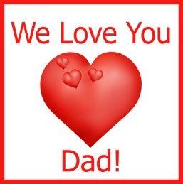 we love you dad clip art