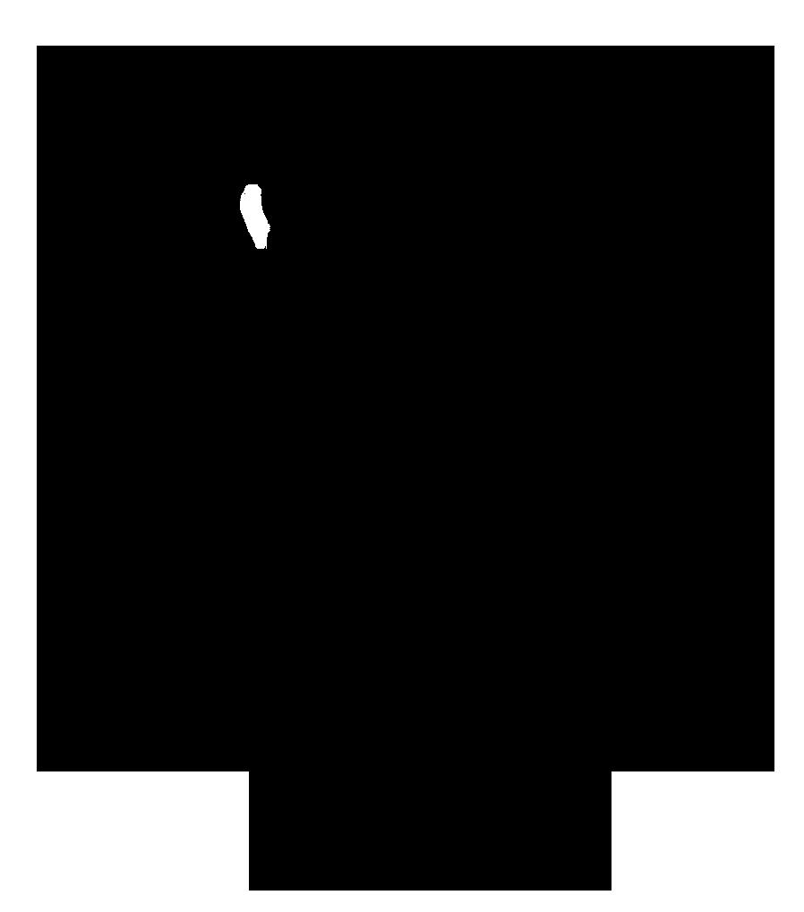 black silhouette angel