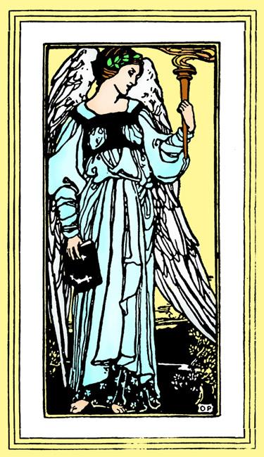 angel picture jugendstil