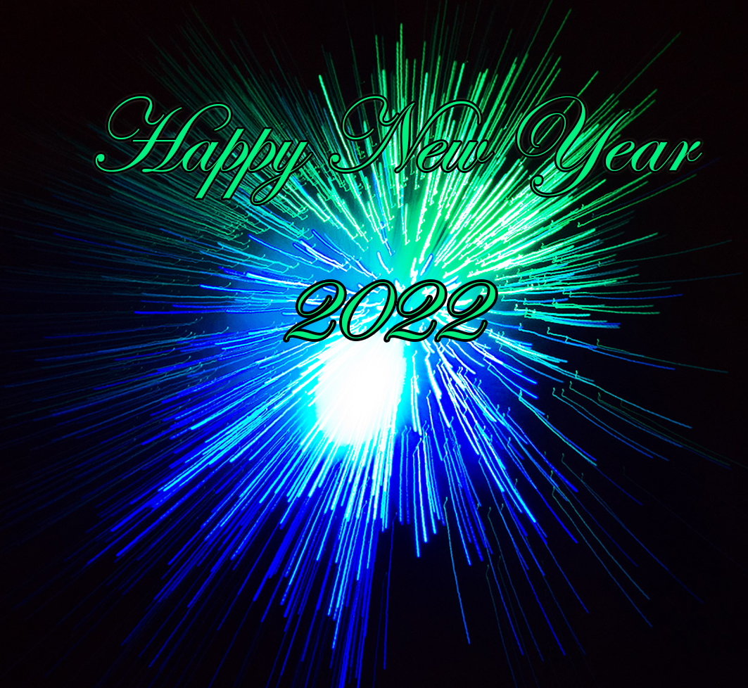firework celebrating New year