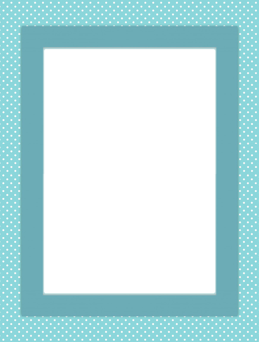 blue spotted frame