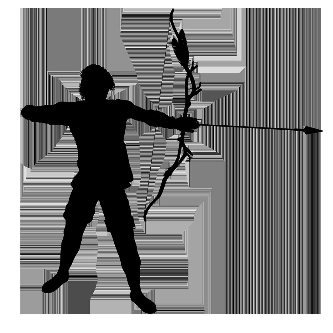 archer bowman clipart