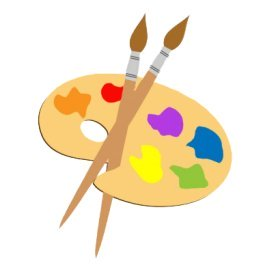 creative arts clipart