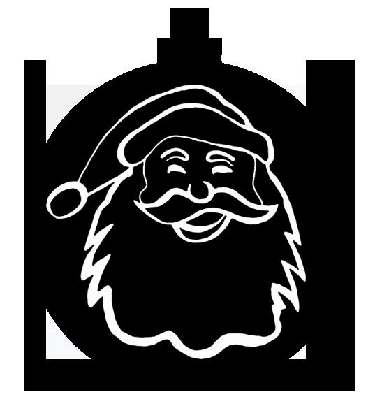 Christmas ornament santa claus