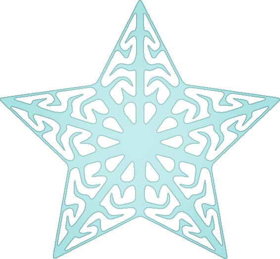 starshaped snowflake