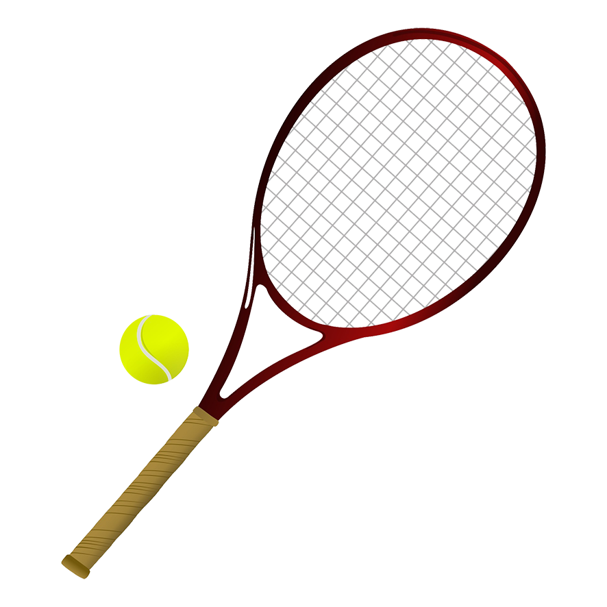 Tennis items PNG