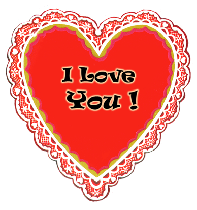 I love you message for Valentines day