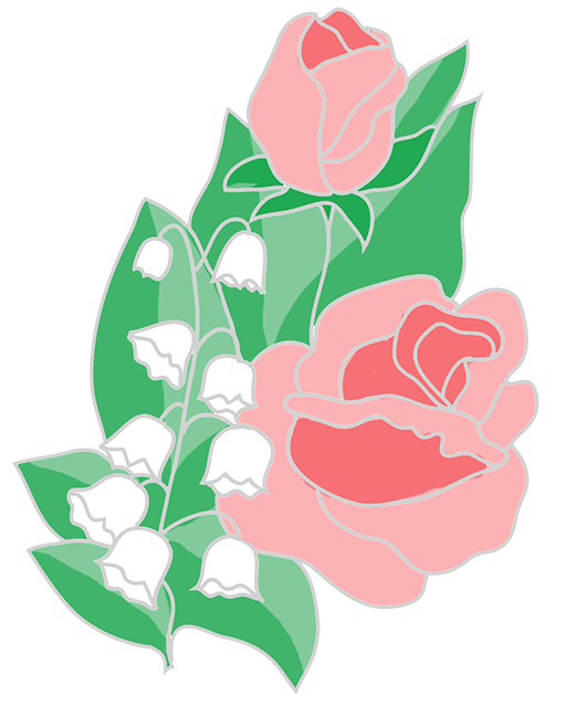 free flower clipart roses lilies of the valley