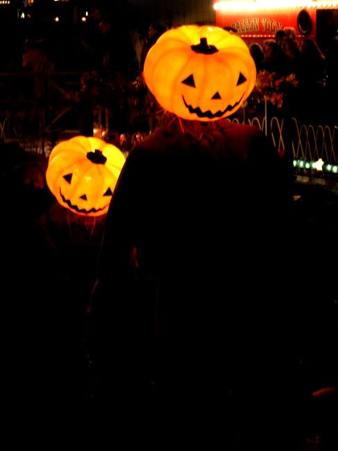 Halloween pictures of pumpkin men
