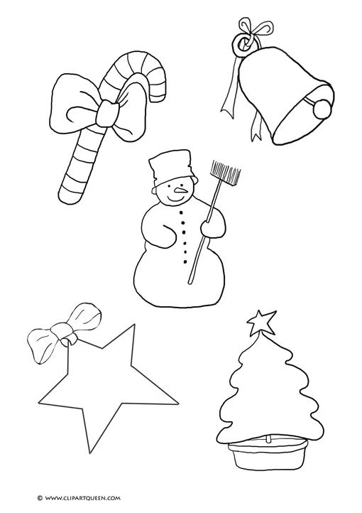 Christmas motives candy bell snowman