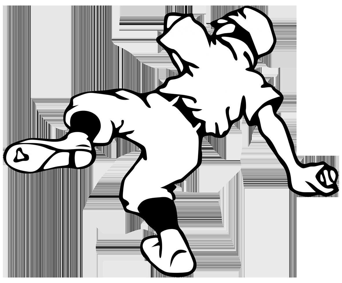 baseball player with baseball ball clipart