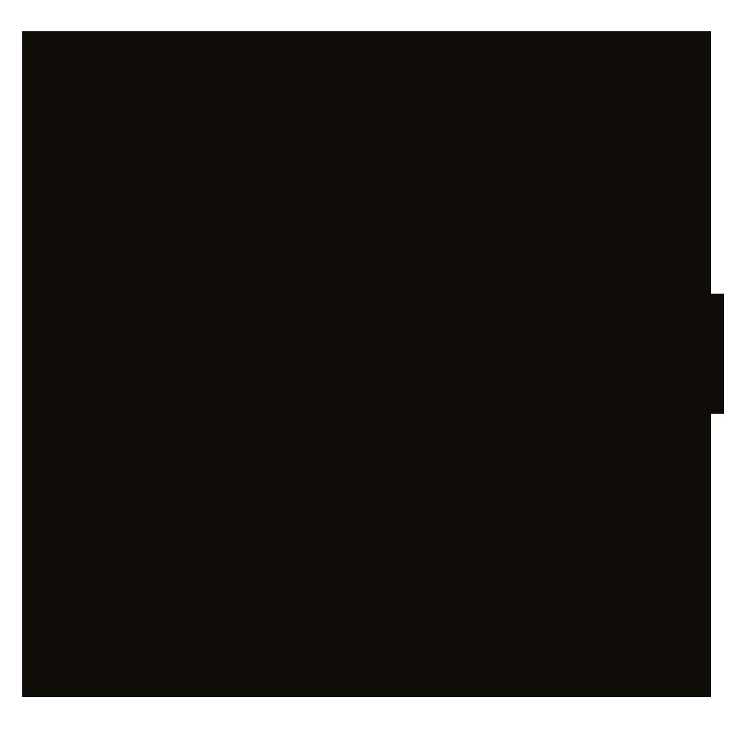 Japanese koi fish outline