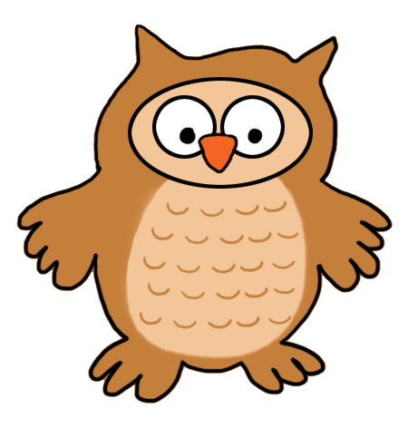 baby owl clipart
