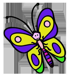 butterfly cartoon
