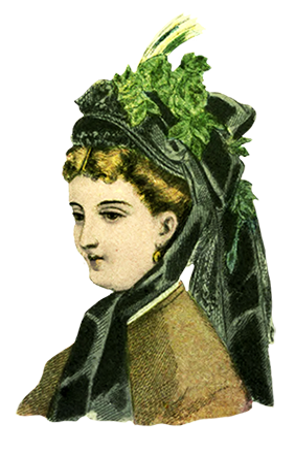 womens hat fashion 1872
