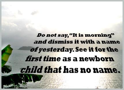 good morning quote sea sunrise