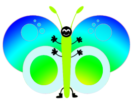 sweet butterfly image