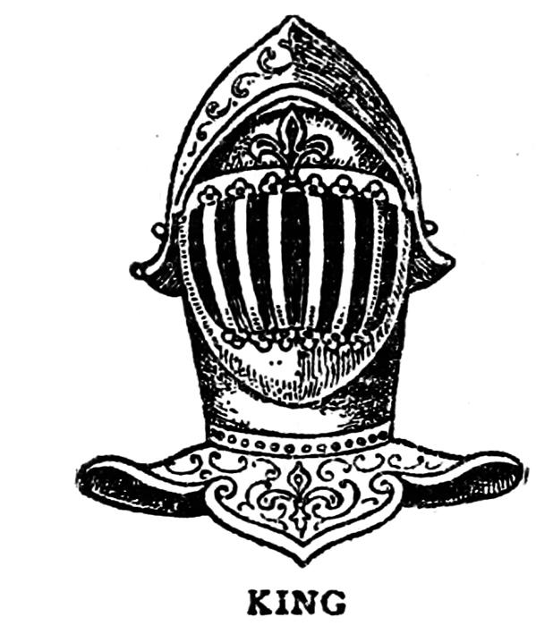 King's helmet Medieval ages