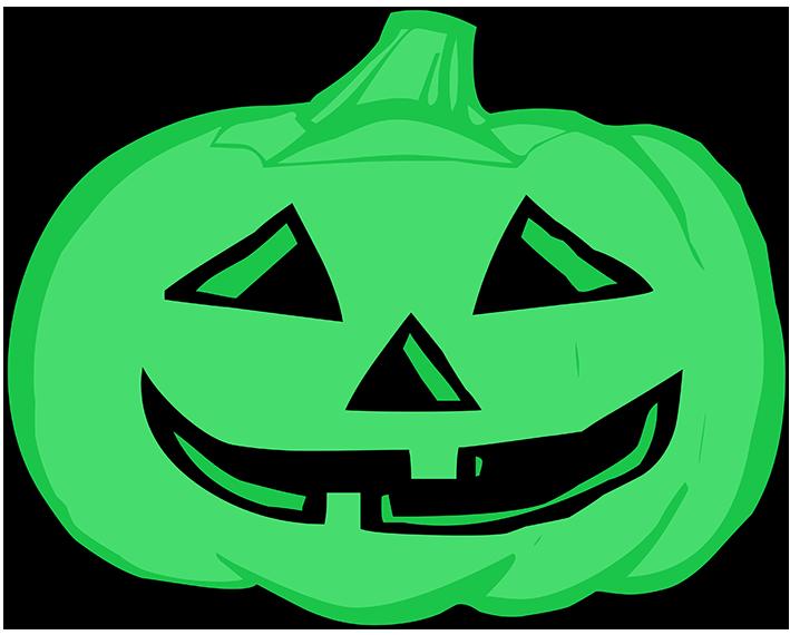 green pumpkin head