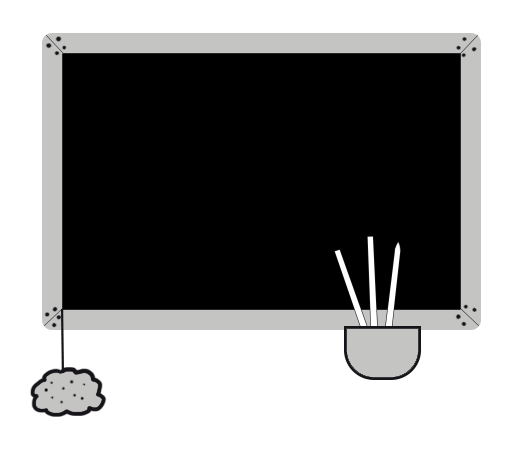 blackboard for school clip art