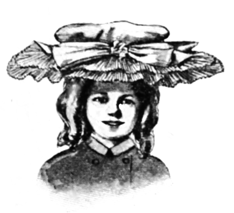 Victorian girl's hat