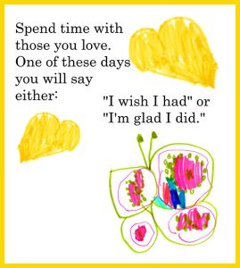 children's butterfly drawing quote