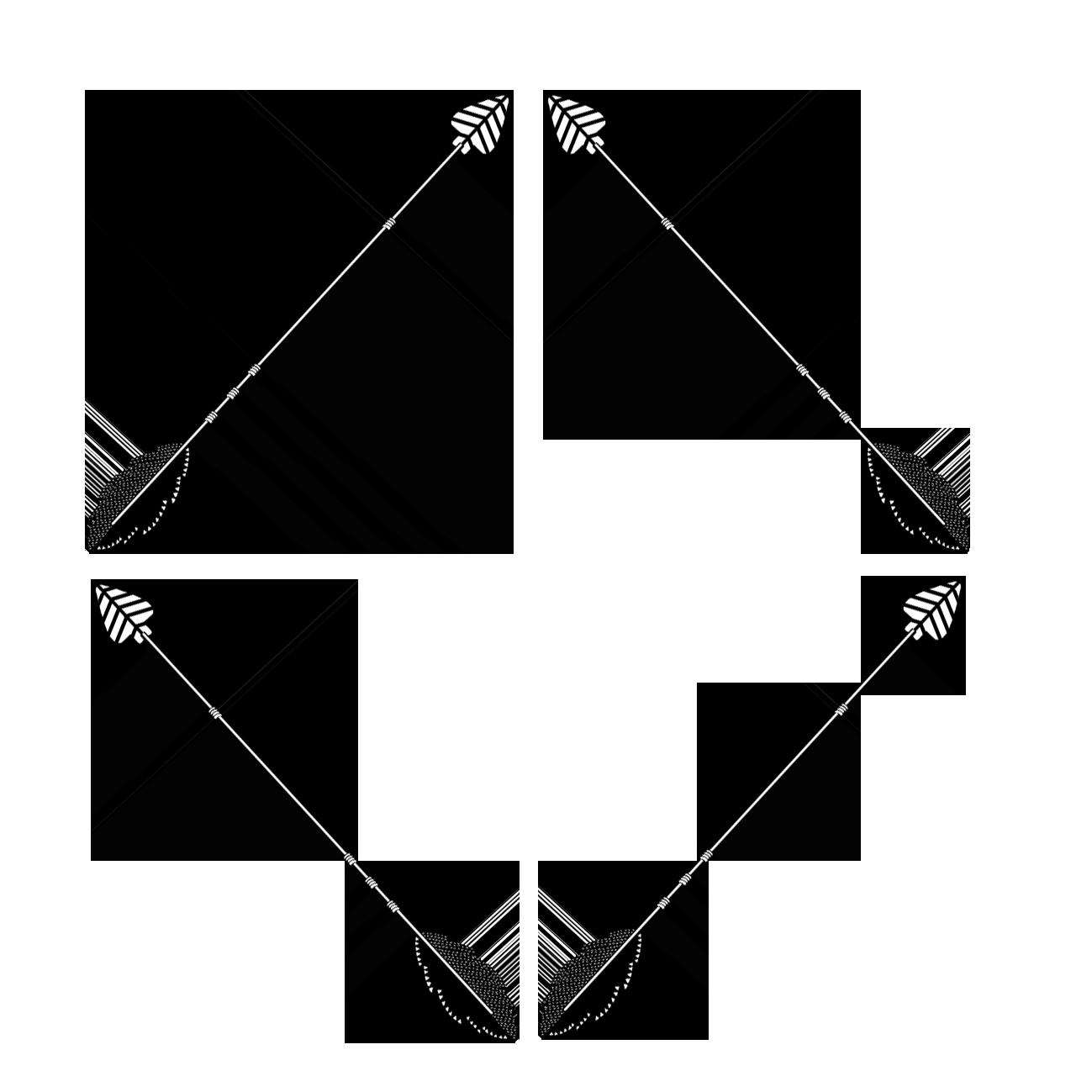 black arrow diamond