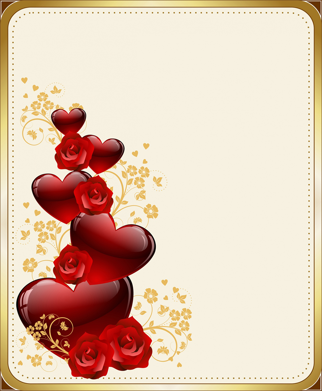 Happy Valentines Day frame