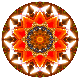 Christmas star pattern